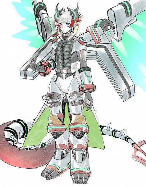 Tags: Anime, Pixiv Id 35299078, Yu-Gi-Oh! VRAINS, Yu-Gi-Oh!, Kougami Ryouken, Revolver (Yu-Gi-Oh! VRAINS), Fanart From Pixiv, Pixiv, Fanart