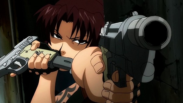 Tags: Anime, Black Lagoon, Revy, Facebook Cover, Wallpaper