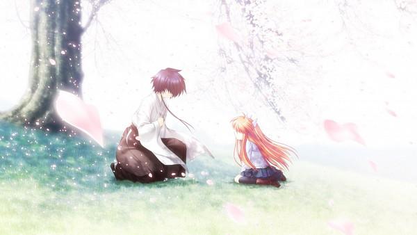 Tags: Anime, Hinoue Itaru, KEY (Studio), Rewrite, Ohtori Sakuya, Ohtori Chihaya, Wallpaper, CG Art