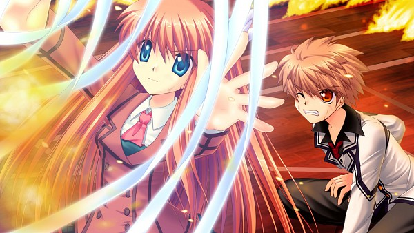 Tags: Anime, Hinoue Itaru, KEY (Studio), Rewrite, Tennouji Kotarou, Ohtori Chihaya, CG Art, Wallpaper
