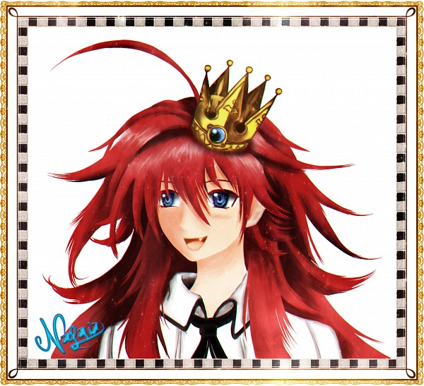 Tags: Anime, Nagaia, Highschool DxD, Rias Gremory, Self Made