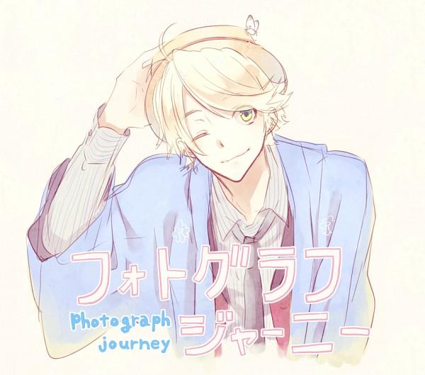 Tags: Anime, Mizuguchi Too, honeybee, Photograph Journey, Richard (Photograph Journey), Fanart From Pixiv, Pixiv, Fanart