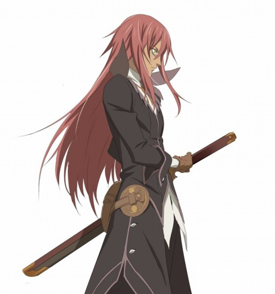 Tags: Anime, Tales of Symphonia, Richter Abend, Official Art