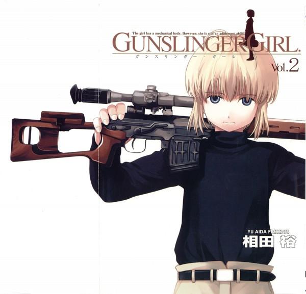 Tags: Anime, Aida Yu, Gunslinger Girl, Rico (Gunslinger Girl)