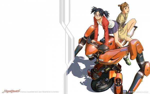 Tags: Anime, Ride Back, Uchida Suzuri, Uemura Shouko, Wallpaper, Official Art, Official Wallpaper