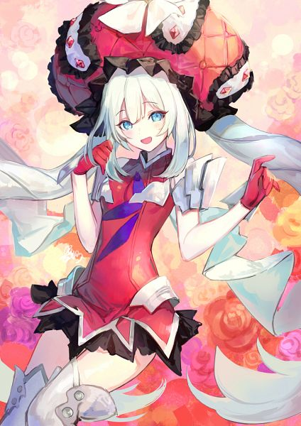 Tags: Anime, Azutarou, Fate/Grand Order, Rider (Marie Antoinette), Mobile Wallpaper