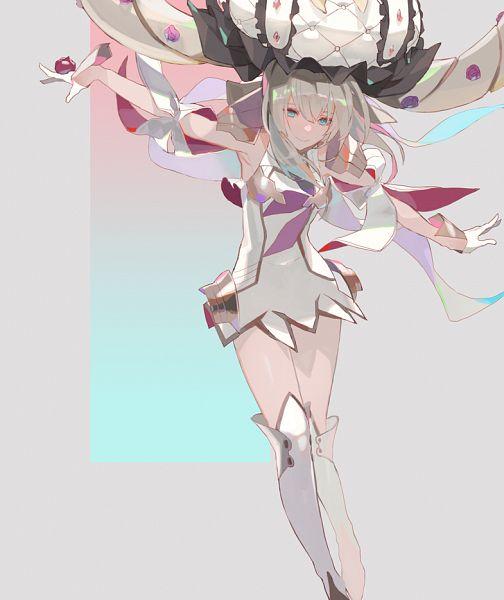 Tags: Anime, Kibadori Rue, Fate/Grand Order, Rider (Marie Antoinette), Twitter, Fanart