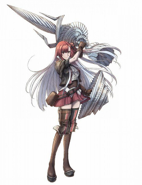 Riela Marcellis - Valkyria Chronicles 3