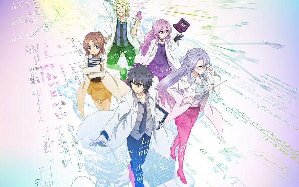 Tags: Anime, Isouchi Yuusuke, Zero-G, Rikei ga Koi ni Ochita no de Shoumei shitemita., Yukimura Shinya, Himuro Ayame, 1440x900 Wallpaper, Key Visual, Wallpaper, Official Art, Character Request