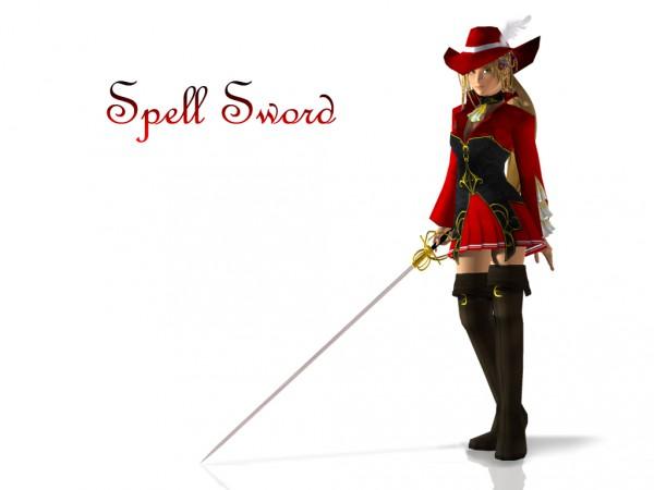 Tags: Anime, Monty Oum, Dead Fantasy, Final Fantasy X, Rikku, 3D, Red Mage