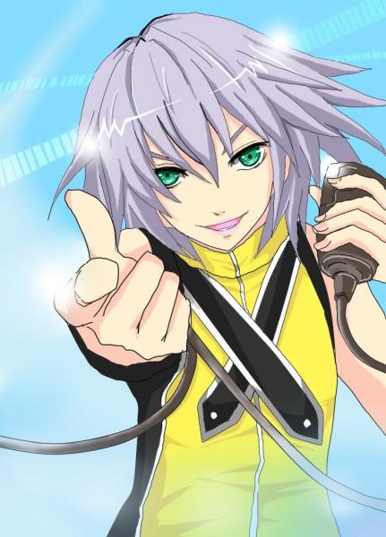 Tags: Anime, Kingdom Hearts, Riku (Kingdom Hearts), Mobile Wallpaper, Artist Request