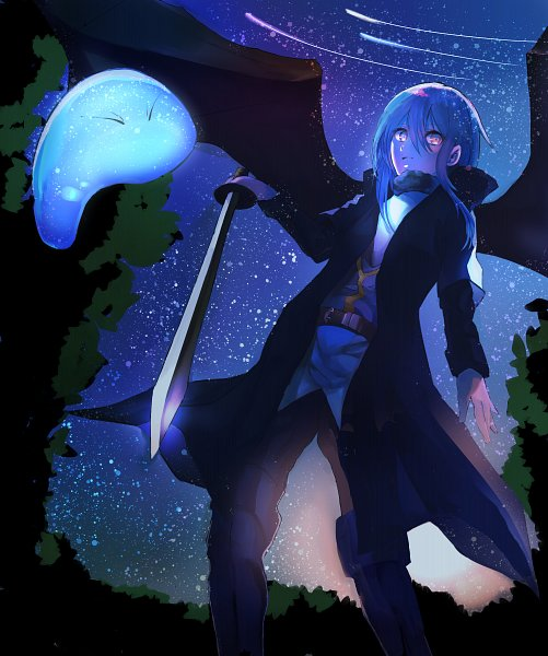 Tags: Anime, Pixiv Id 15951015, Tensei Shitara Slime Datta Ken, Rimuru Tempest (Slime), Rimuru Tempest, Slime, Shooting Stars
