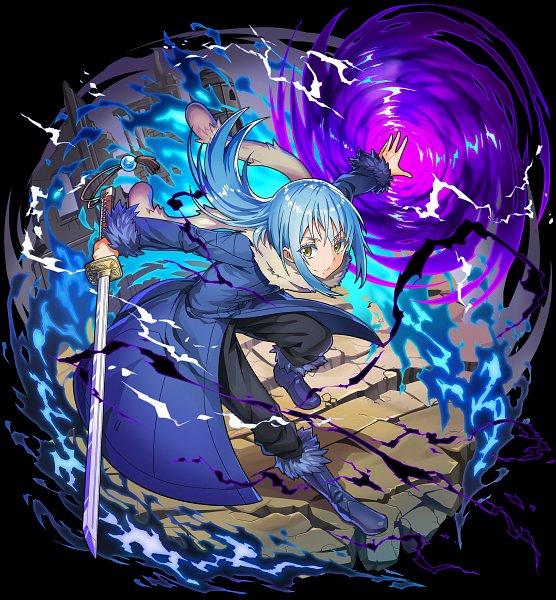 Tags: Anime, studioking, Tensei Shitara Slime Datta Ken, Boku & Dragons, Rimuru Tempest, Official Art