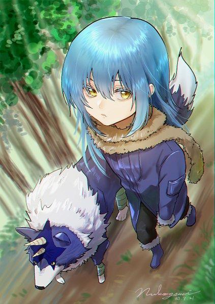 Tags: Anime, Pixiv Id 5853725, Tensei Shitara Slime Datta Ken, Rimuru Tempest, Ranga (Tensei Shitara Slime Datta Ken)