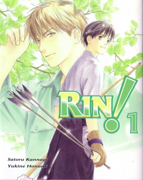 Tags: Anime, Honami Yukine, Rin!, Sakurasawa Katsura, Sou Shibata, Self Scanned, Manga Cover, Scan, Official Art
