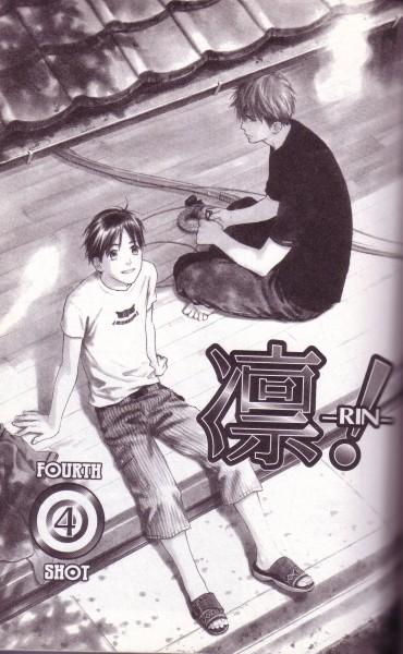 Tags: Anime, Honami Yukine, Rin!, Sakurasawa Katsura, Sou Shibata, Crease, Self Scanned, Chapter Cover, Scan, Official Art, Manga Page