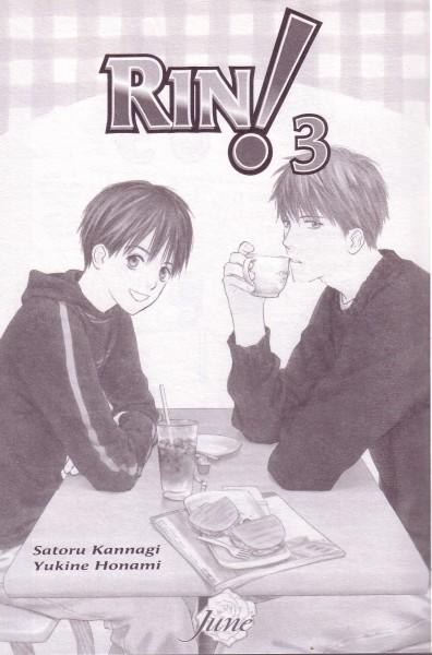Tags: Anime, Honami Yukine, Rin!, Sou Shibata, Sakurasawa Katsura, Scan, Official Art, Manga Page, Self Scanned