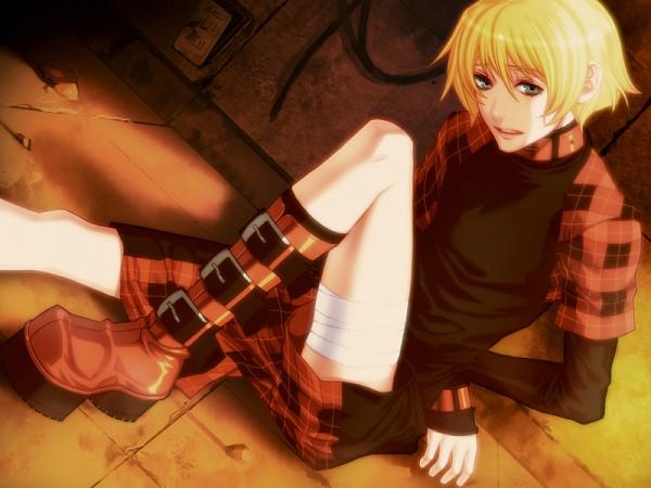 Tags: Anime, Nitro+CHiRAL, Togainu no Chi, Rin (TNC), Buckle Boots, CG Art