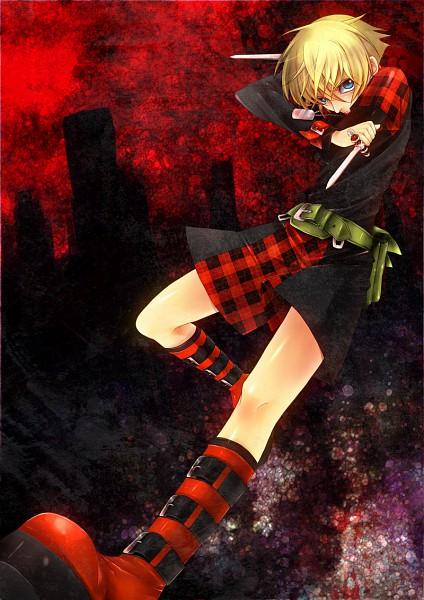 Tags: Anime, Nitro+CHiRAL, Togainu no Chi, Rin (TNC), Mobile Wallpaper