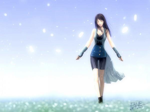 Tags: Anime, SQUARE ENIX, Final Fantasy VIII, Rinoa Heartilly, Bike Shorts, Wallpaper