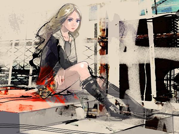 Tags: Anime, Risa Hibiki, Pixiv, Wallpaper