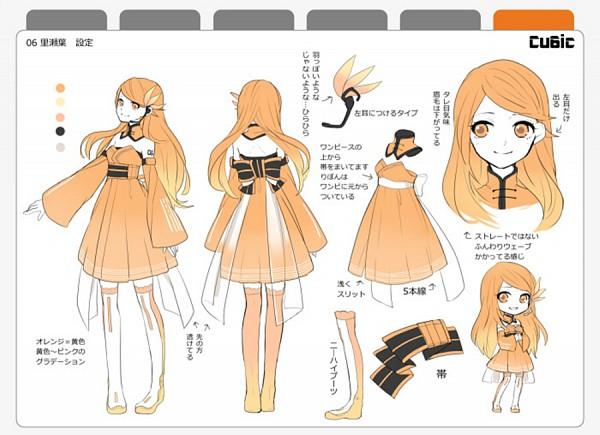 Tags: Anime, Tama Songe, Riseha, Nico Nico Singer, Character Sheet, Cu6ic