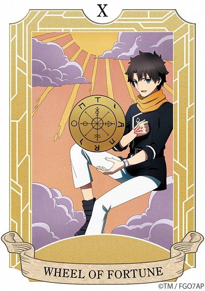 Tags: Anime, CloverWorks, Fate/Grand Order: Zettai Majuu Sensen Babylonia, Fate/Grand Order, Ritsuka Fujimaru, Wheel of Fortune (Tarot), Sun (Symbol), Official Art, Twitter