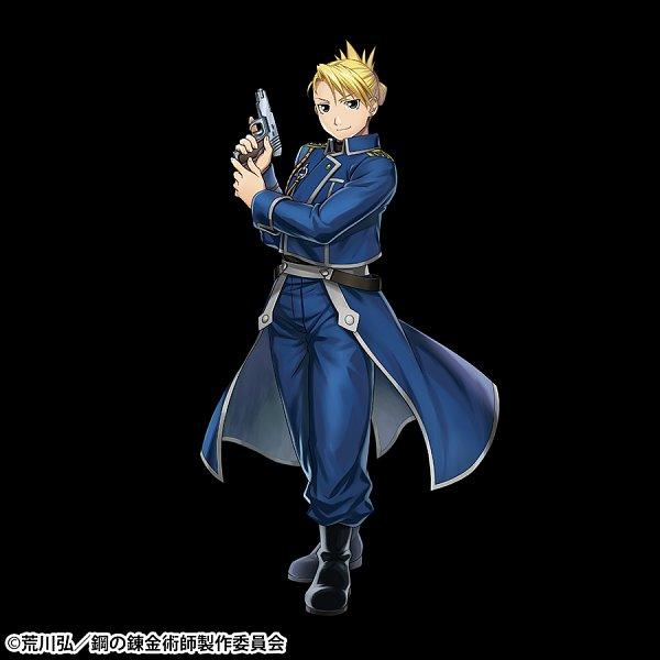Tags: Anime, gumi Inc., Fullmetal Alchemist, Crystal of Re:union, Riza Hawkeye, Official Art