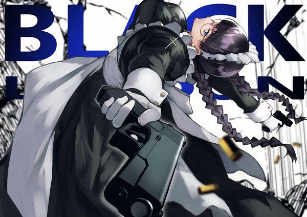 Tags: Anime, Pixiv Id 3584828, Black Lagoon, Roberta, Fanart From Pixiv, Pixiv, Fanart