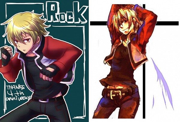 Tags: Anime, SNK Playmore, Fatal Fury, The King of Fighters, Garou: Mark of the Wolves, Rock Howard, Pixiv