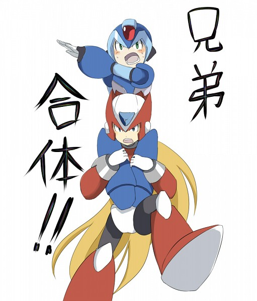Tags: Anime, Rockman Zero, Rockman X, Rockman, Zero (Megaman X), X (Mega Man X)