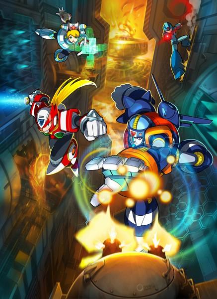 Tags: Anime, Rockman X, Rockman, Zero (Megaman X), X (Mega Man X), Mobile Wallpaper