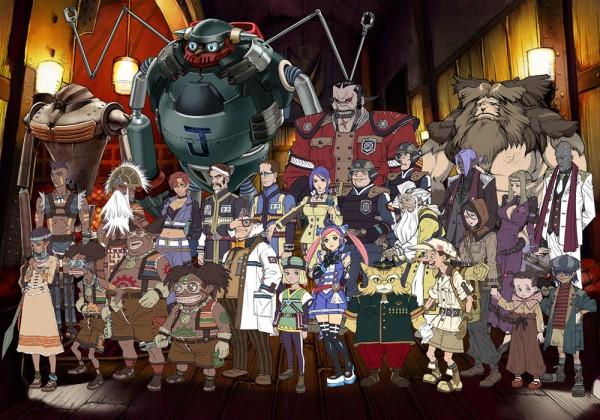 Tags: Anime, Rogue Galaxy, Mio (Needless), Rosencaster, Daytron