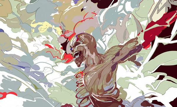 Tags: Anime, el-zheng, Attack on Titan, Rogue Titan, Titan (Shingeki no Kyojin), Eren Jaeger, deviantART, Fanart