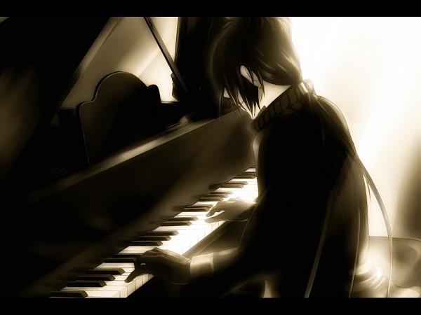 Tags: Anime, Katekyo Hitman REBORN!, Rokudou Mukuro, Playing