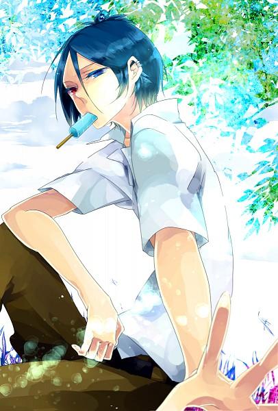 Tags: Anime, Katekyo Hitman REBORN!, Rokudou Mukuro, Mobile Wallpaper, Pixiv