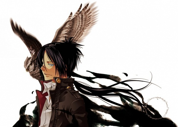 Tags: Anime, Yun (Neo), Katekyo Hitman REBORN!, Rokudou Mukuro, Mukurou, Eagle, Pineapple Head, Fanart