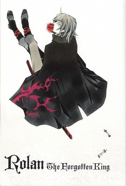 Tags: Anime, Mochizuki Jun, Rolan - The Forgotten King, Rolan Flamberge, Official Art, Mobile Wallpaper, Novel Illustration, Scan