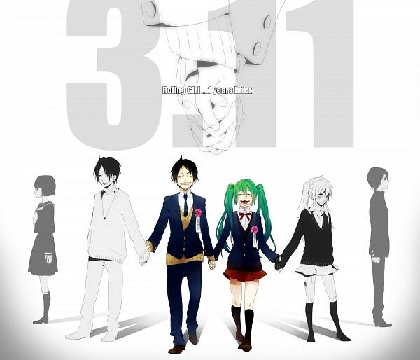Tags: Anime, Akiakane, VOCALOID, Hatsune Miku, Fanart, Pixiv