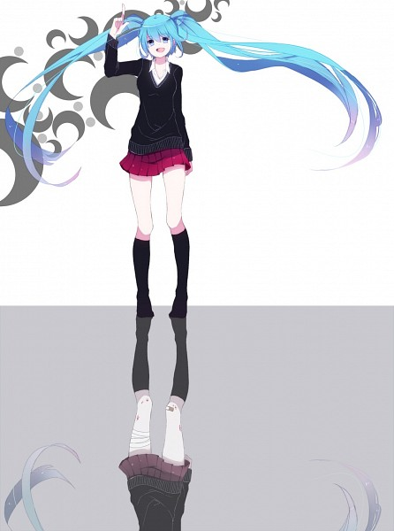 Tags: Anime, Nanashi (Kari), VOCALOID, Hatsune Miku, Different Reflection, Rolling Girl