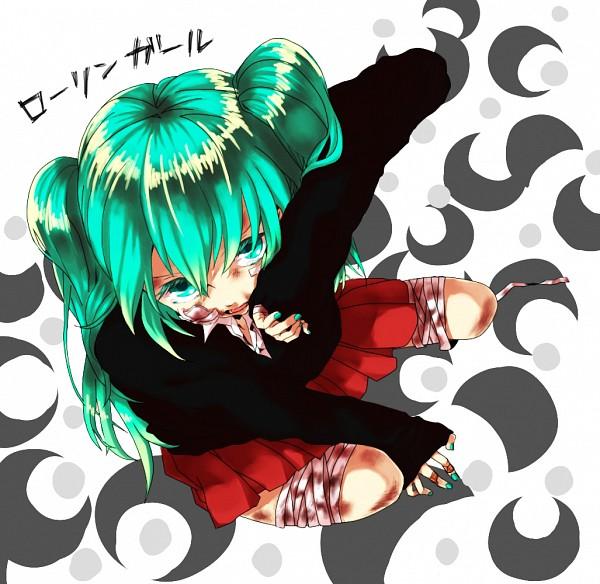 Tags: Anime, Pixiv Id 625099, Yoyori, VOCALOID, Hatsune Miku, Rolling Girl, Collaboration