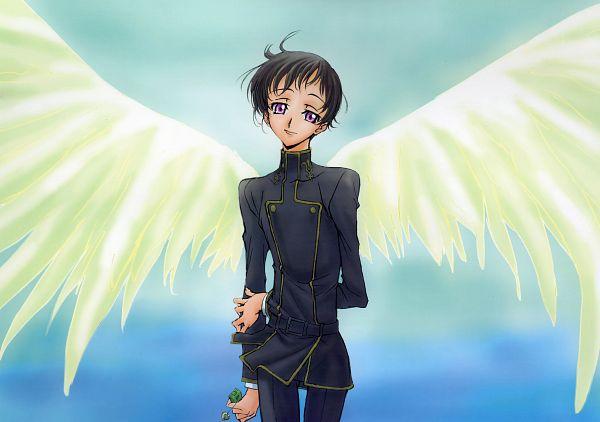 Tags: Anime, Sakou Yukie, CODE GEASS: Hangyaku no Lelouch, CODE GEASS: Hangyaku no Lelouch R2, Anniversary & Memorial, Rolo Lamperouge, Official Art, Scan