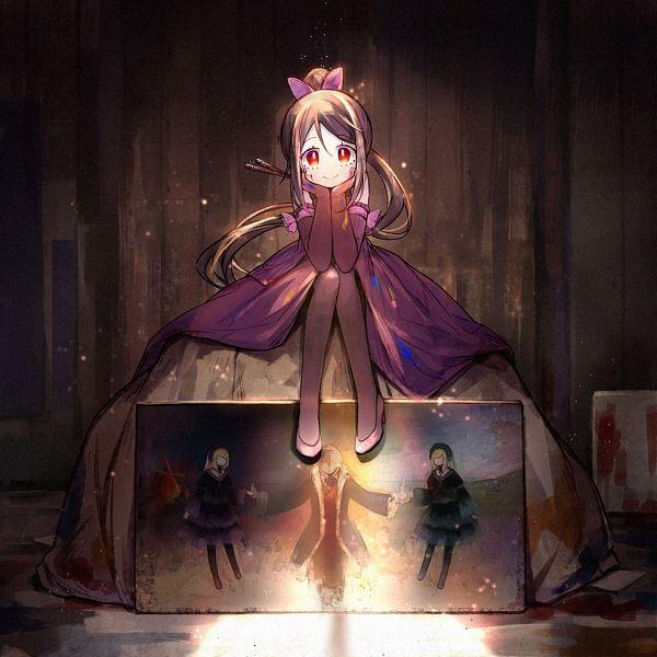Tags: Anime, Hiragi Rin, Michèle Malebranche, Hortense, Hiver Laurant, Violette, Painting (Object), Roman (Sound Horizon), Pixiv, Fanart From Pixiv, Fanart, Sound Horizon