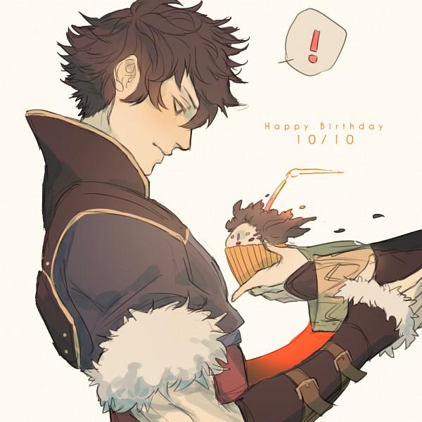 Tags: Anime, bwusagi, Fire Emblem: Kakusei, Ronku, Fanart, Tumblr, Lon'qu