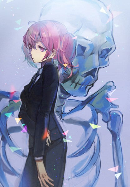 Tags: Anime, Tyuh, Inu x Boku SS, Roromiya Karuta, Pixiv, Mobile Wallpaper, Fanart