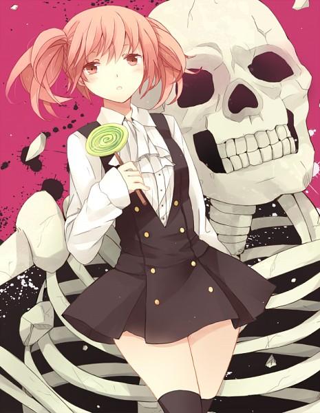 Tags: Anime, Cranio, Inu x Boku SS, Roromiya Karuta, Gashadokuro, Pixiv, Fanart