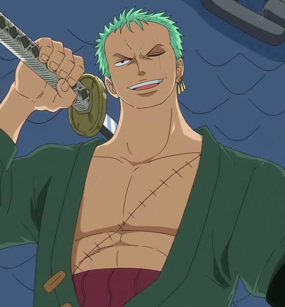 Tags: Anime, ONE PIECE, Roronoa Zoro, Stitched Screenshot, Screenshot, One Piece: Two Years Later, The Eleven Supernovas