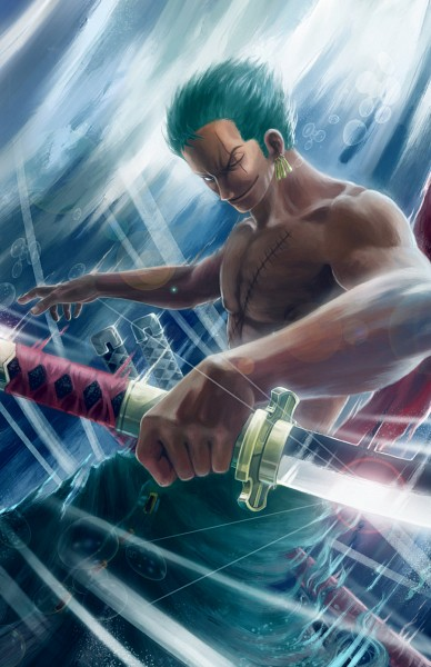 Tags: Anime, Mikaelwang, ONE PIECE, Roronoa Zoro, One Piece: Two Years Later, deviantART, Mobile Wallpaper