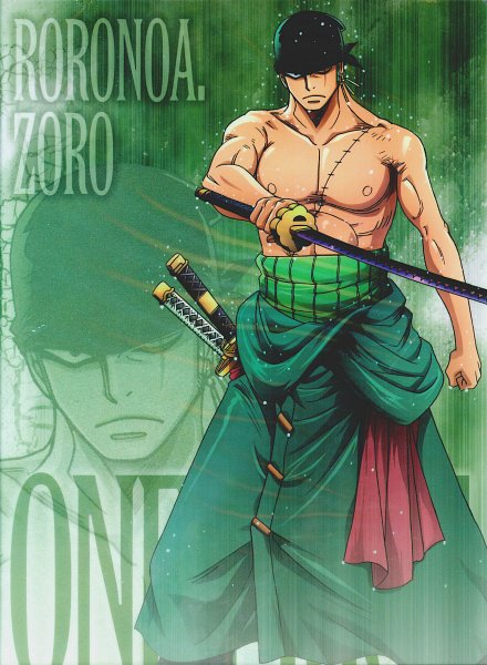 Tags: Anime, ONE PIECE, Roronoa Zoro, One Piece: Two Years Later, Official Art