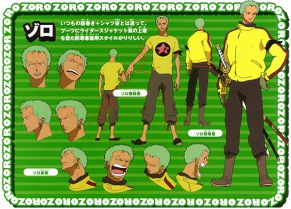Tags: Anime, ONE PIECE, Roronoa Zoro, Character Sheet